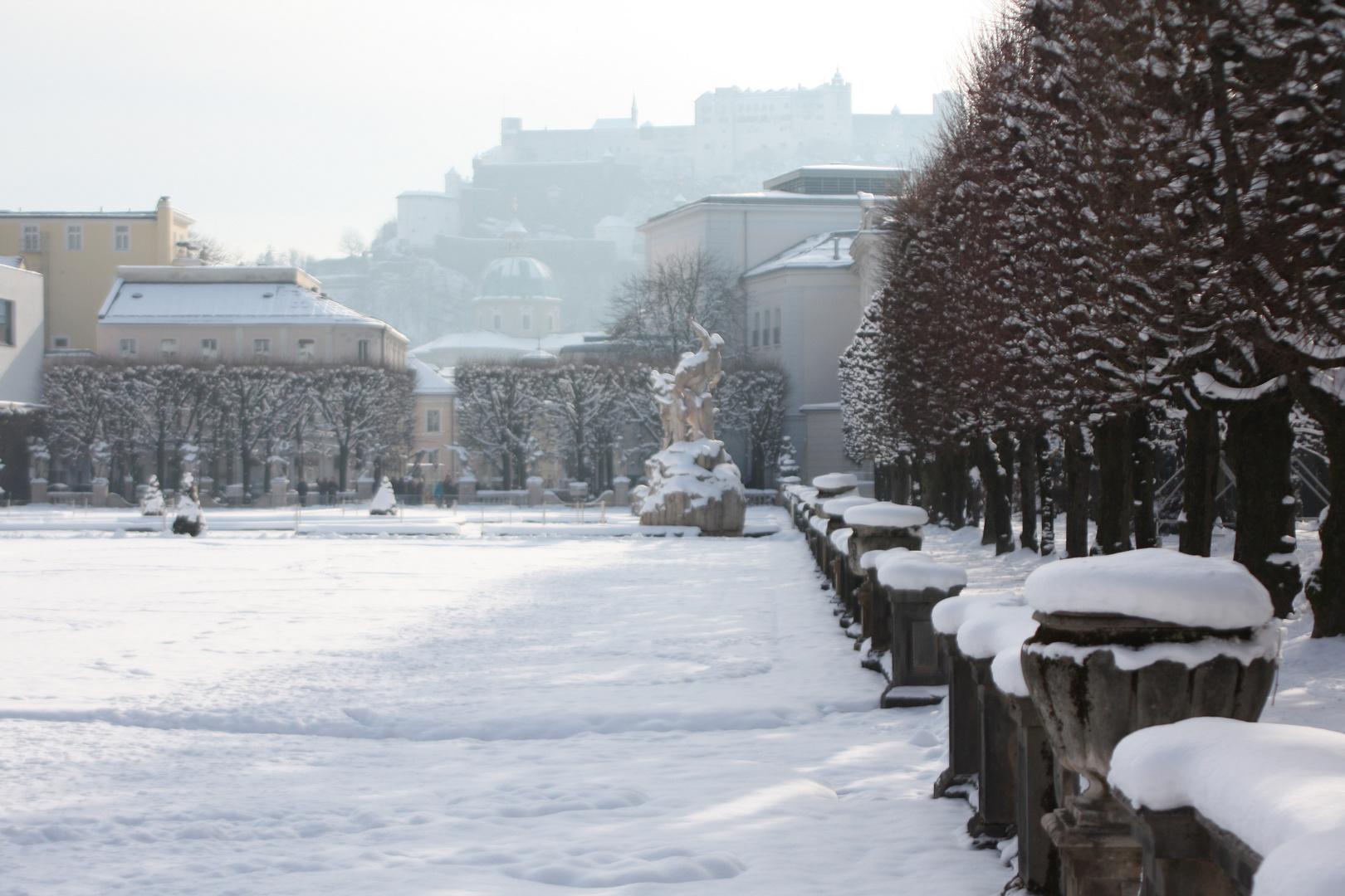 Hoffentliche Erinnerung an den Salzburger Winter