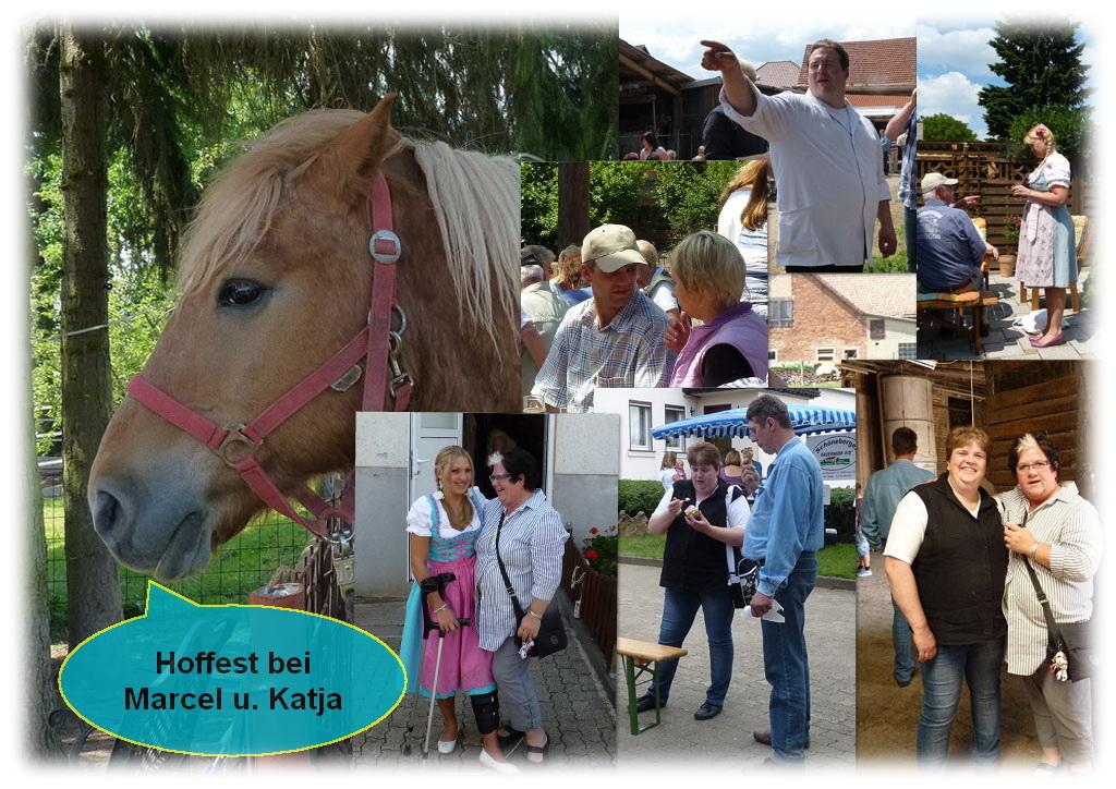 Hoffest bei Marcel & Katja