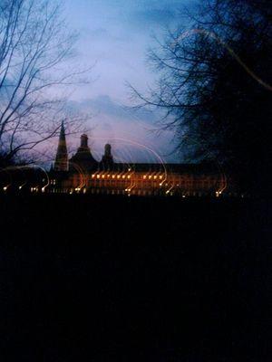 hofgarten abends