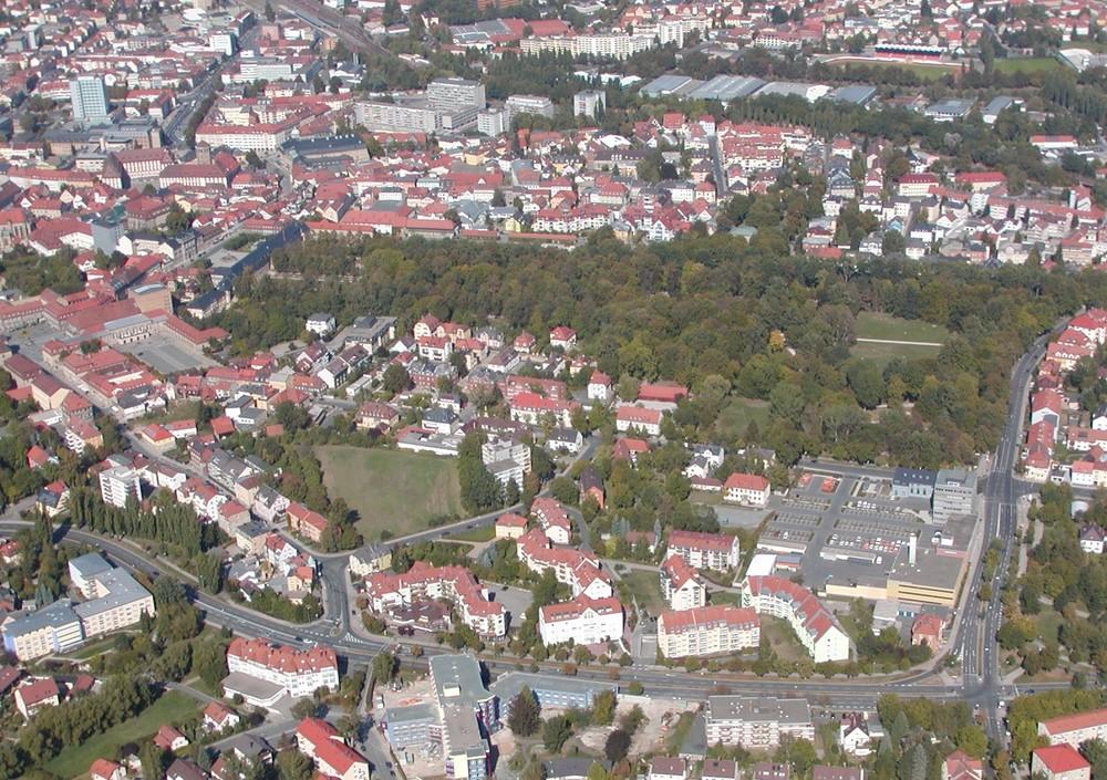 Hofgarten Bayreuth Sommer 2003