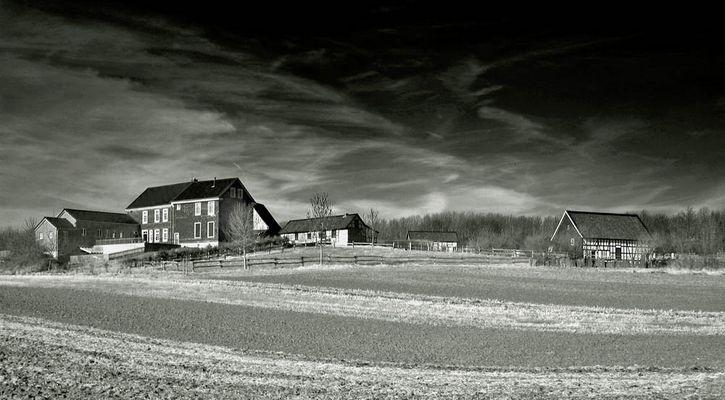 Hoflandschaft im Bergischen Land