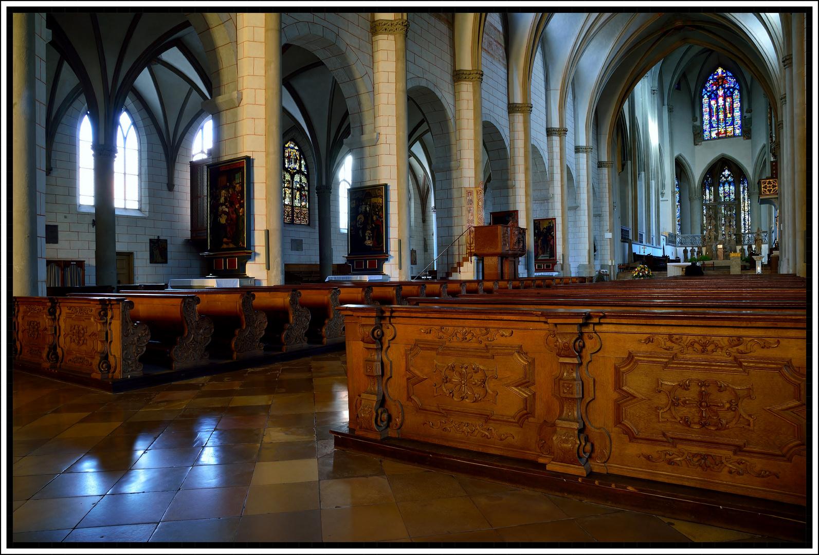 Hohe Dom zu Augsburg, Interieur