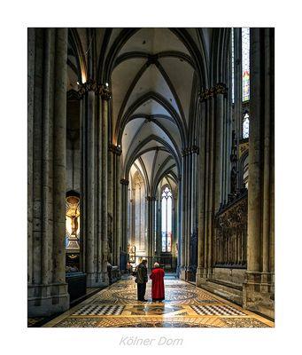 "Hohe Domkirche St. Petrus "" Impressionen vom Kölner Dom..."""