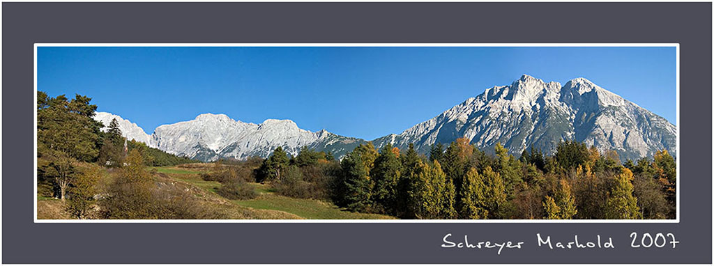 Hohe Munde - Panorama