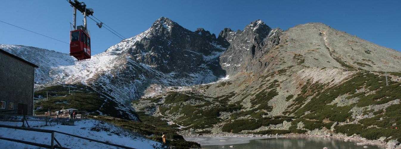 Hohe Tatra - Lomnitzer Spitze