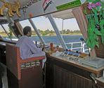 Hohe Technik an Bord eines Nilkreuzers