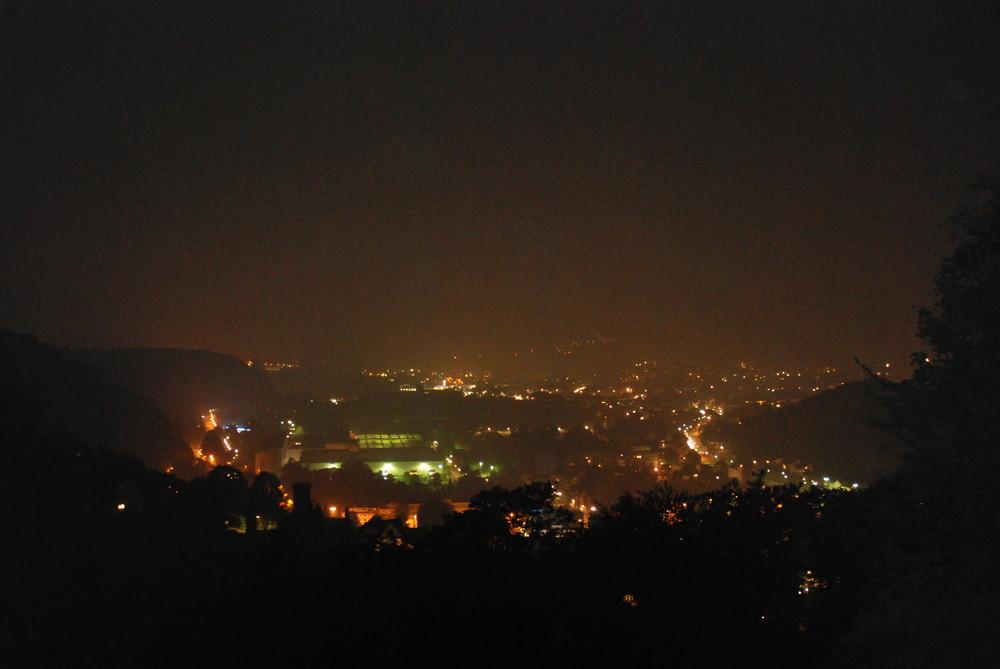 Hohenlimburg bei Nacht