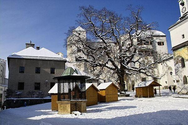 Hohensalzburg im Februar