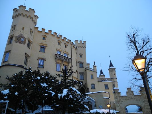 Hohenschwangau im Winter