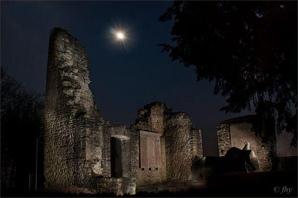Hohensyburg im Mondschein