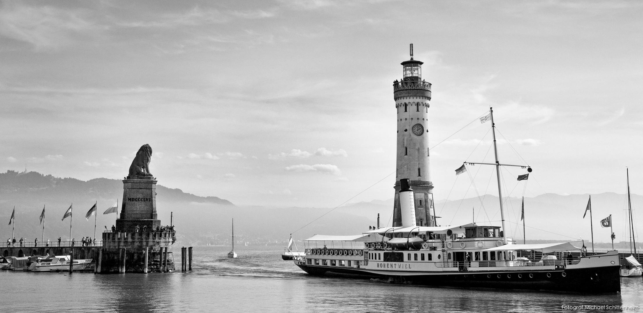 Hohentwiel | Das königliche Dampfschiff. Seit 1913. | Lindau im Bodensee