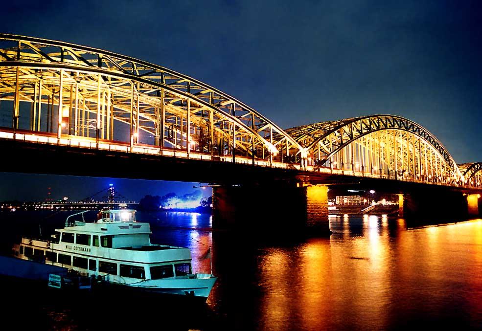 Hohenzollerbrücke, Köln (Version 2)