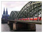 Hohenzollern-Brücke...