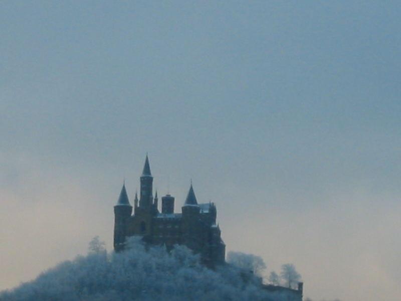 Hohenzollern im Winter