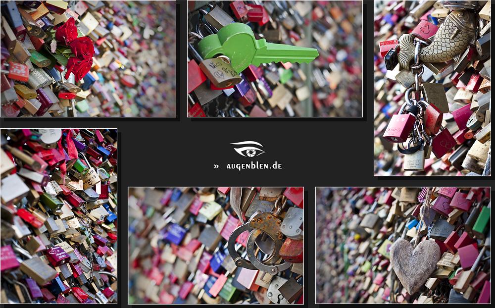 Hohenzollernbrücke - Collage