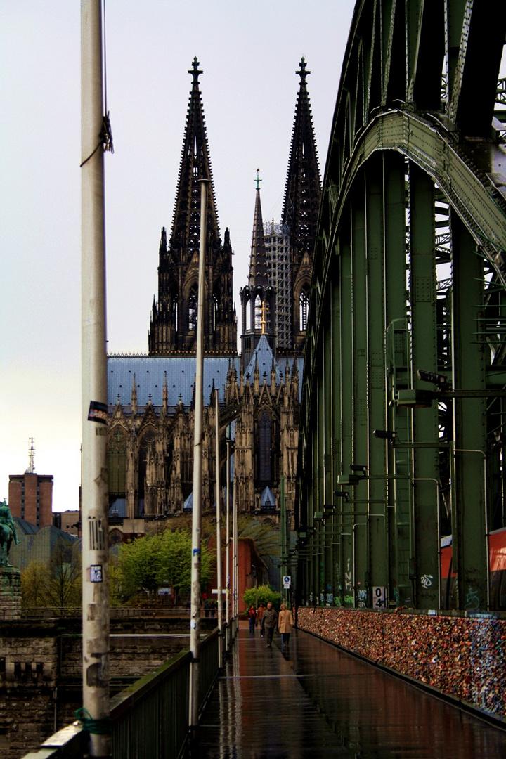 Hohenzollernbrücke / Dom