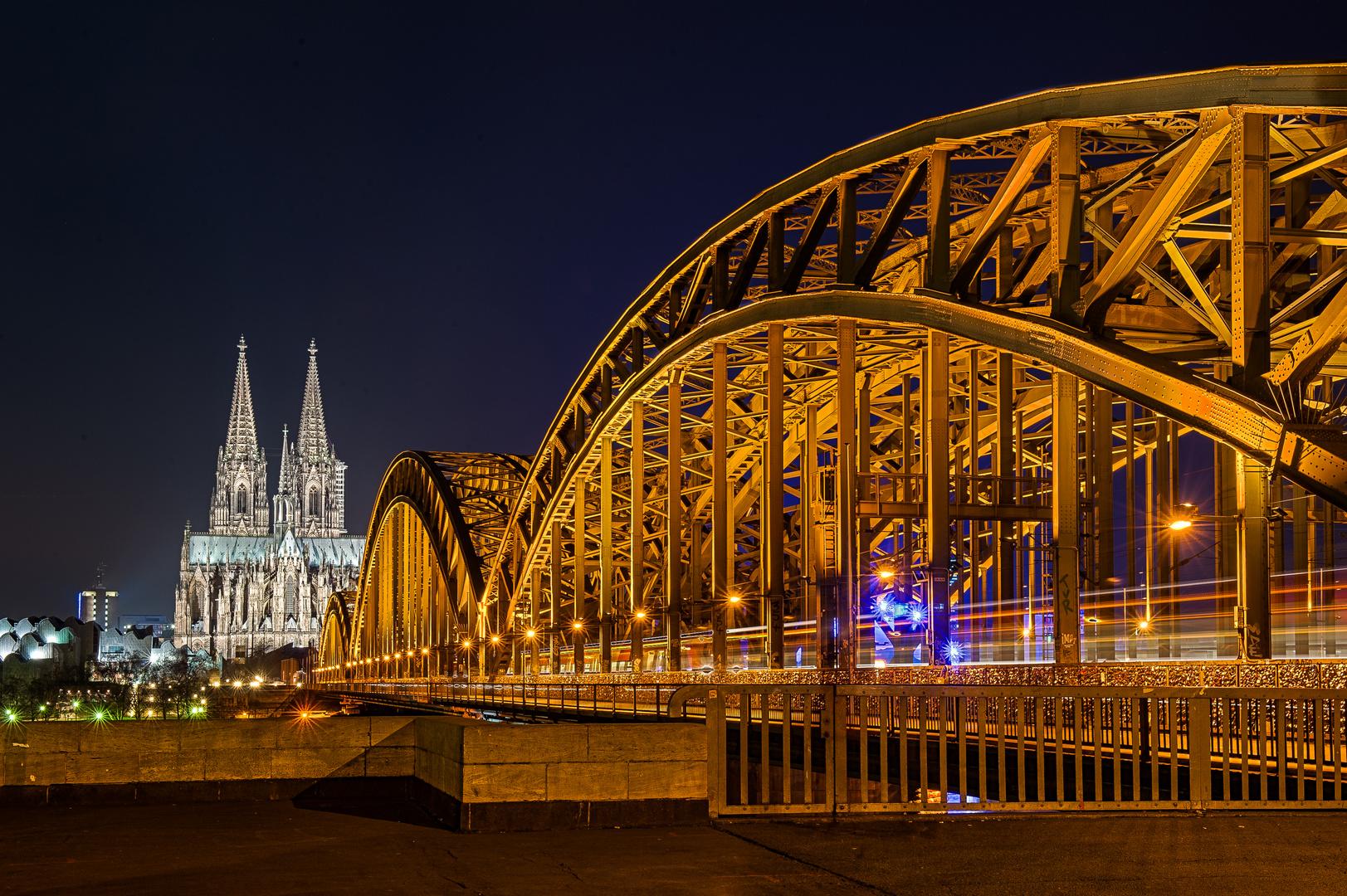 Hohenzollernbrücke Kön