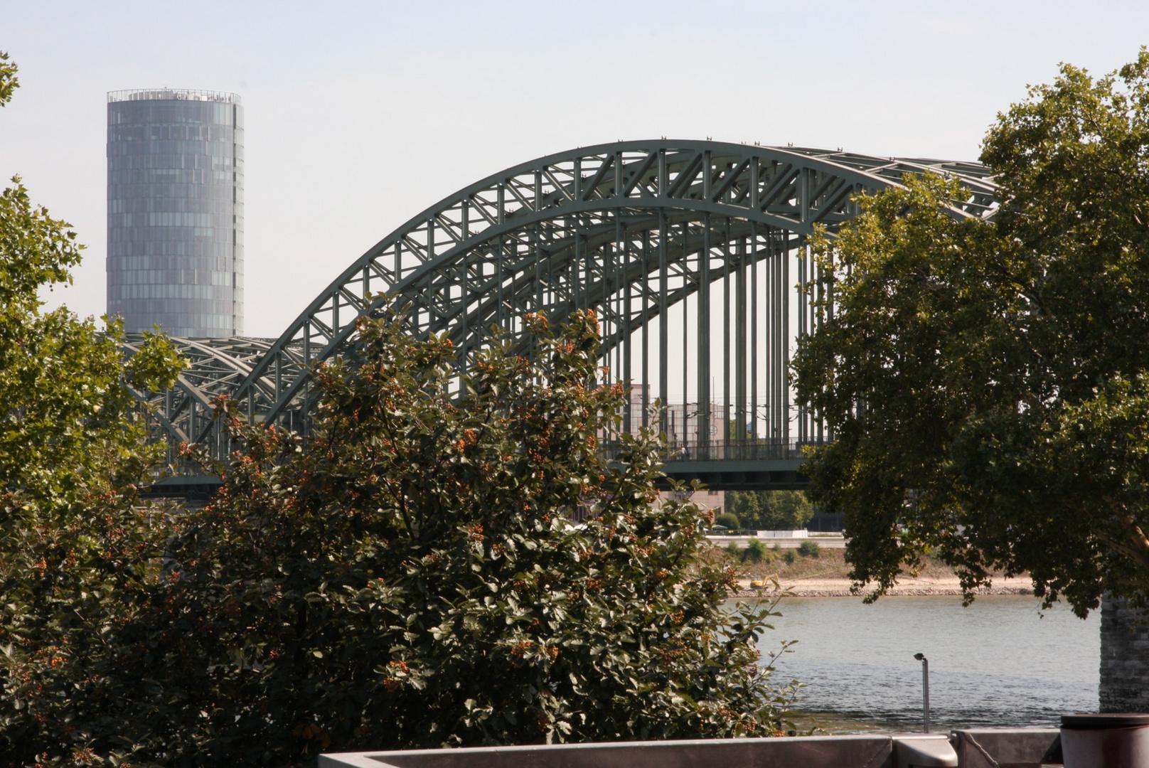 Hohenzollernbrücke mal anders