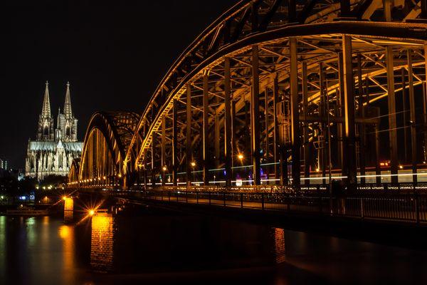 Hohenzollernbrücke - the day before
