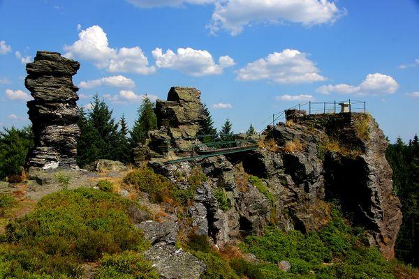 Hoher Stein - Vysoký kámen (Elstergebirge)1