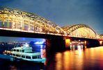 Hohernzollernbrücke, Köln Version 3
