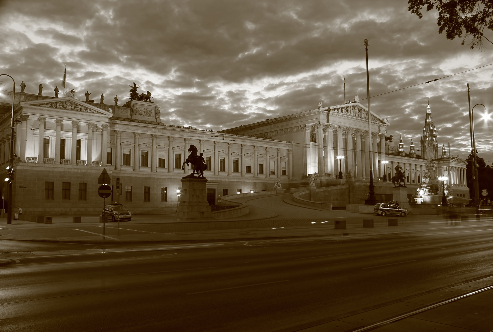 Hohes Haus, Parlament, Wien