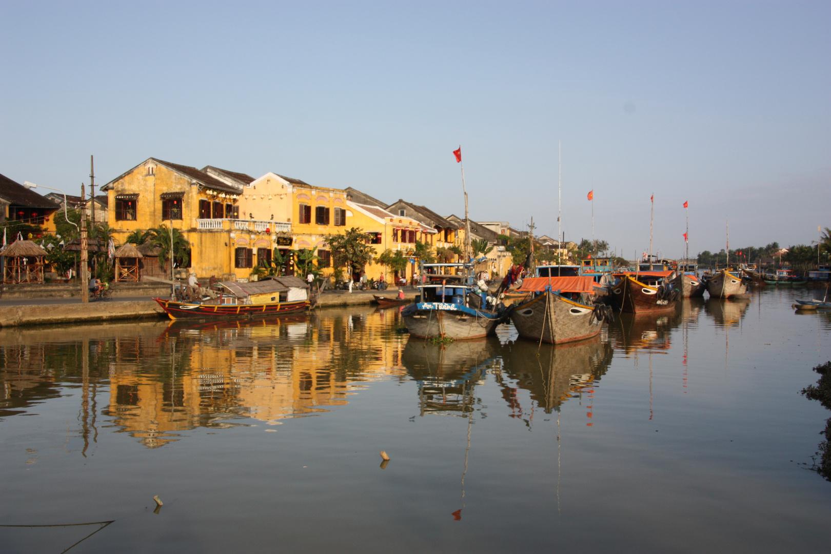 Hoi An - alte Handelsstadt in Zentralvietnam