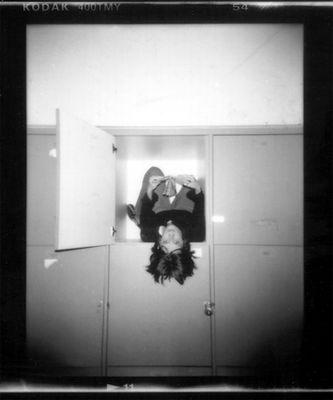 Holga - Girl in a Locker