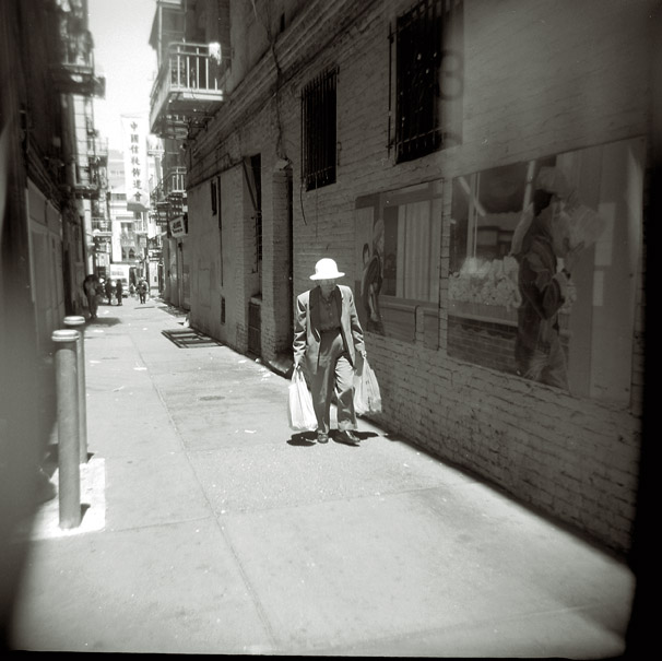 Holga in Old Chinatown Alley