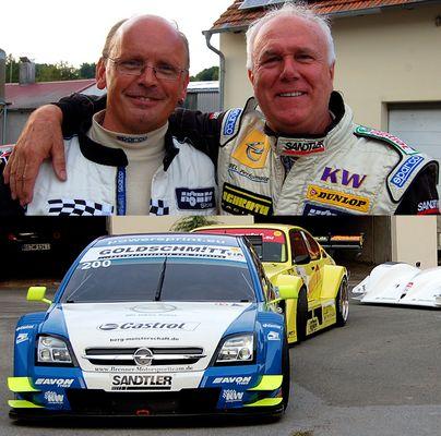 Holger und Norbert ... Freunde und, nun Mitbewerber :)