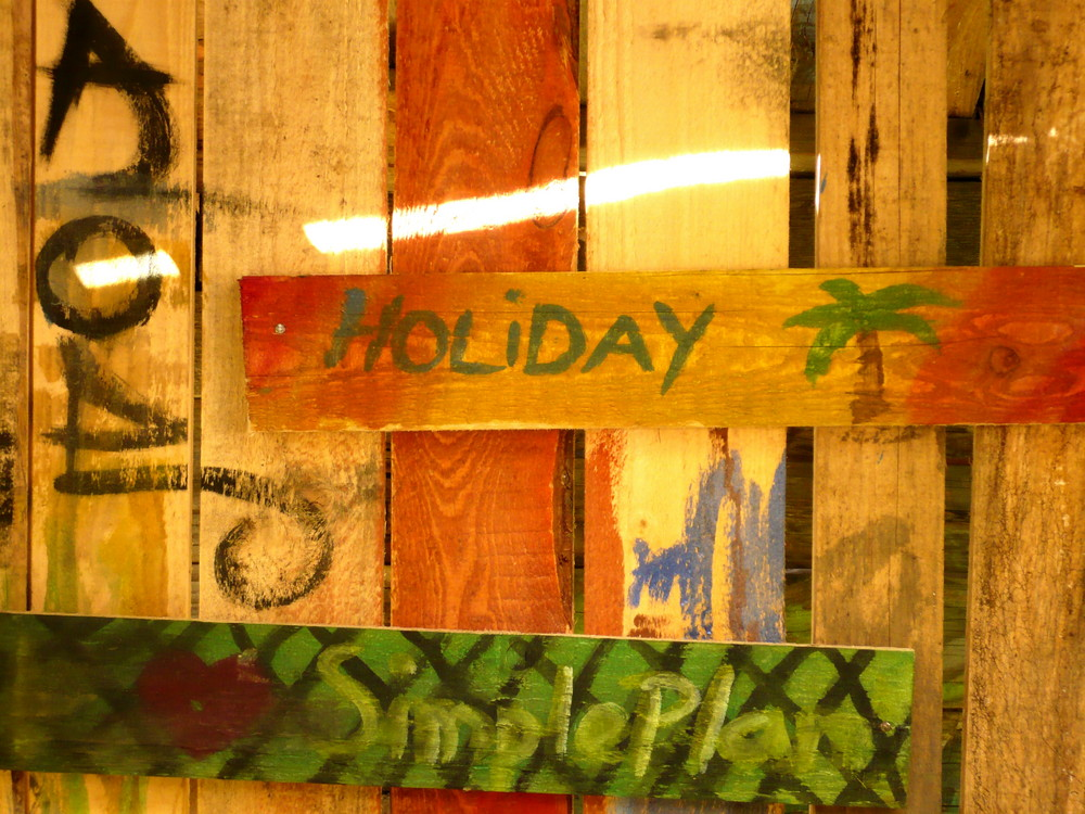 Holiday... just make a simple plan!
