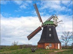Holländerwindmühle in Stove