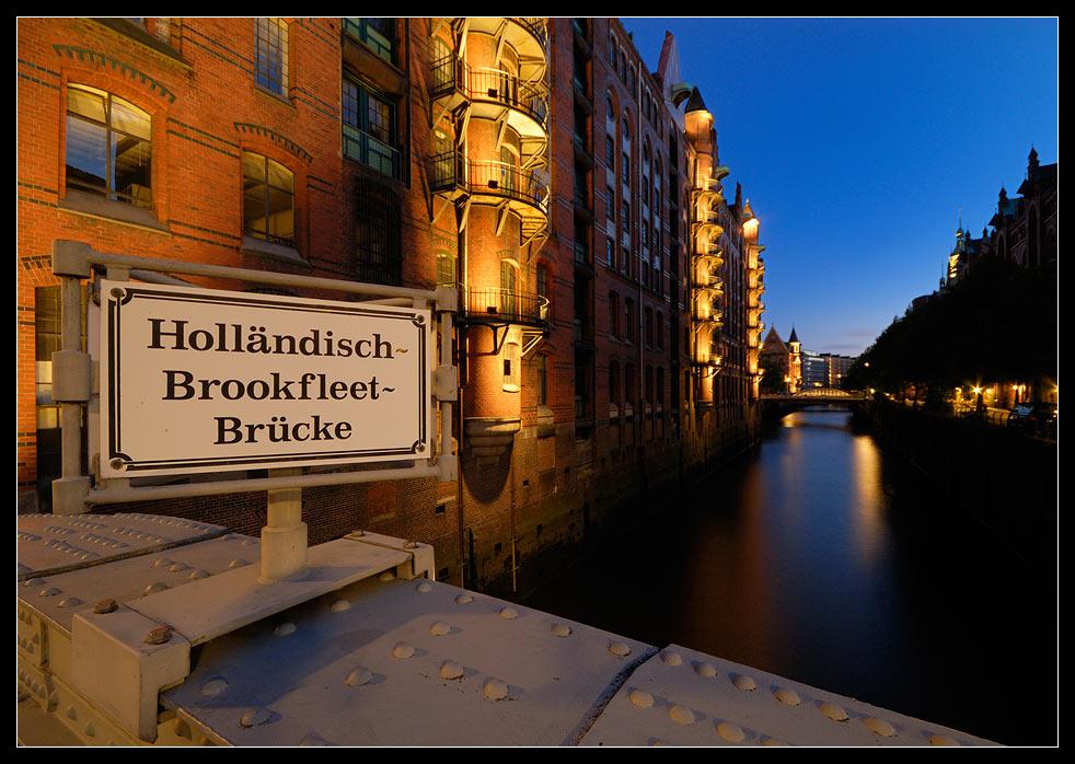 Holländisch~Brookfleet~Brücke
