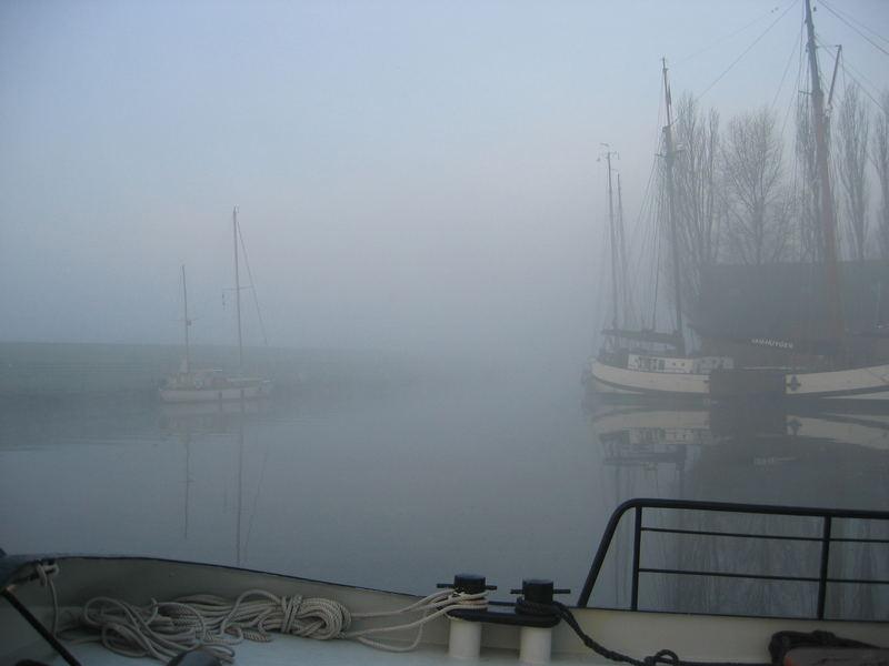 Holland im Nebel