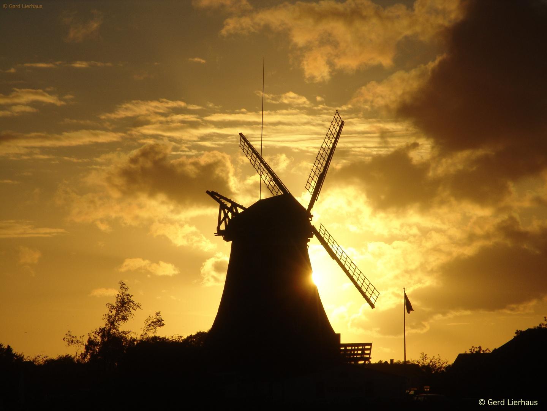 Holland im Sonnenuntergang