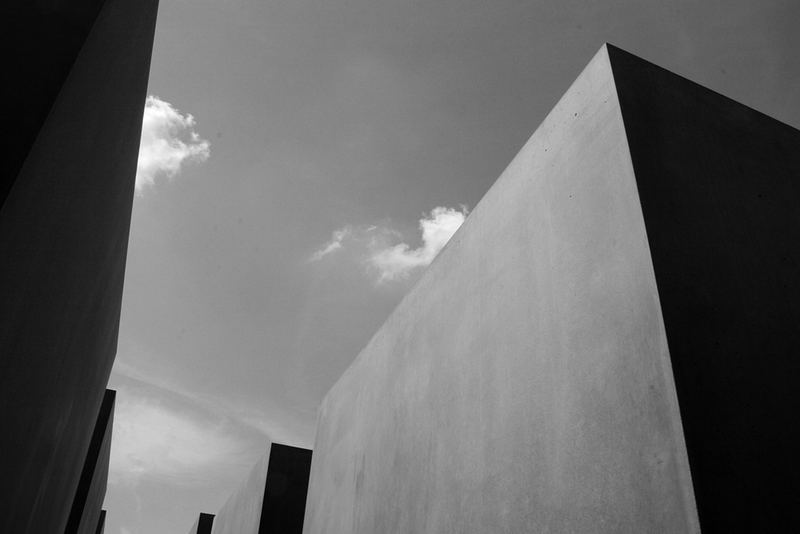holocaust denkmal, 08/07 berlin