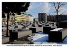 Holocaust-Denkmal im März-Winter anno 2013