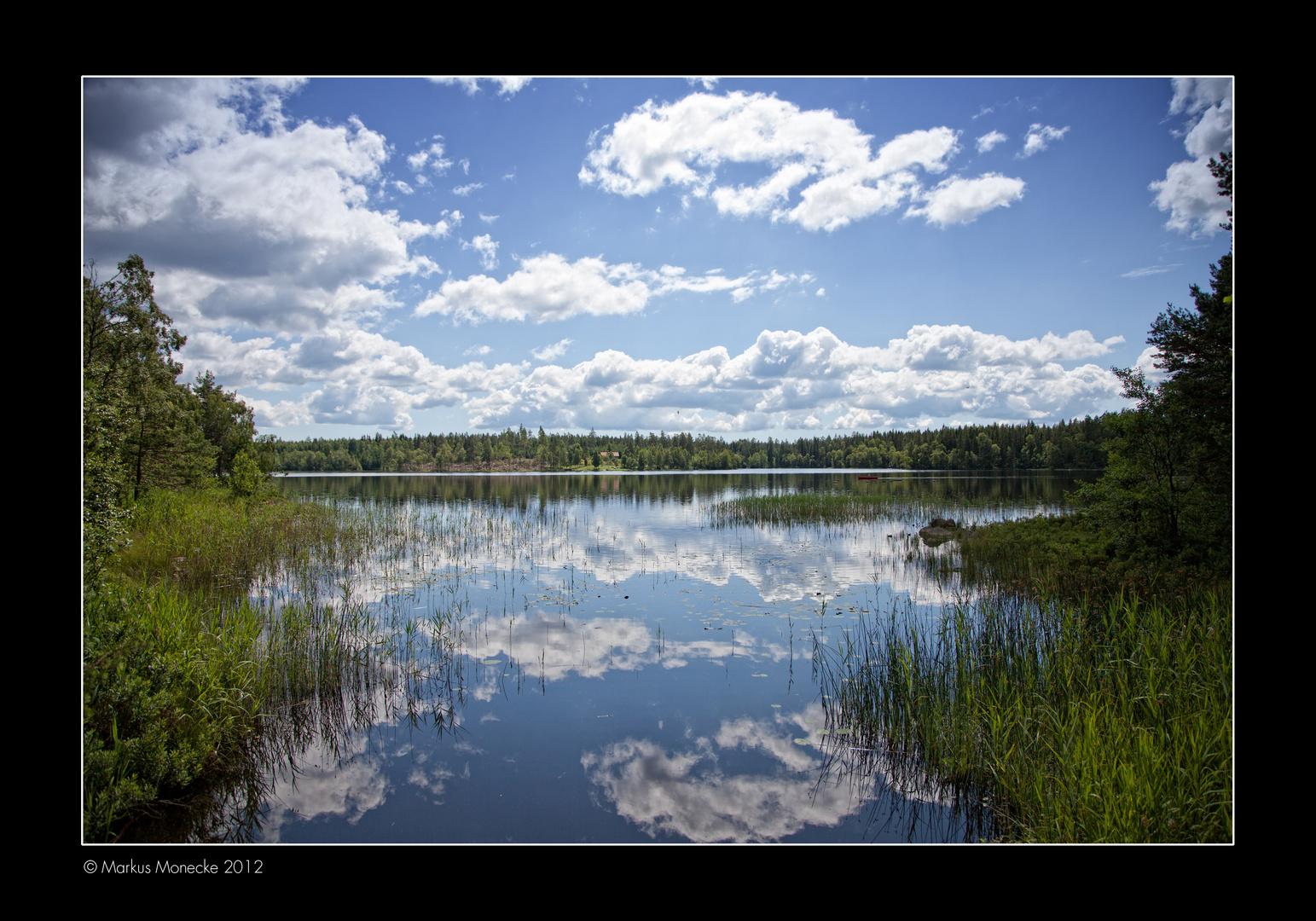 Holssjön, Schweden