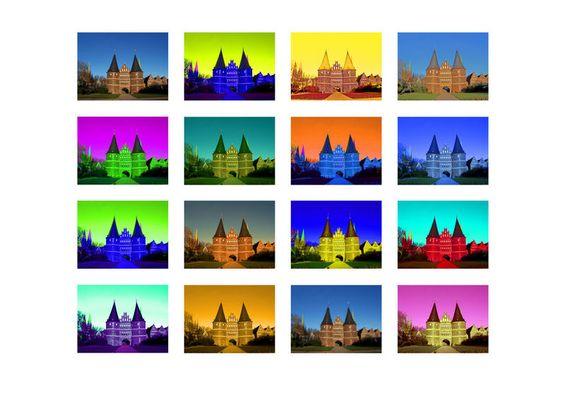 Holstentor- Collage
