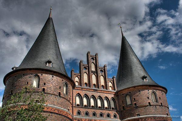 Holstentor II, Lübeck