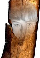 """""""Holz-Gesicht"""""""