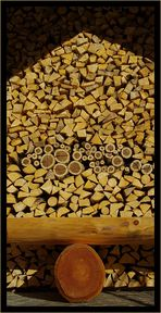 Holz - Haus