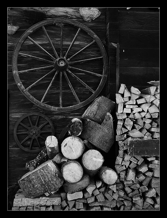 Holz, Holz und noch viel mehr Holz