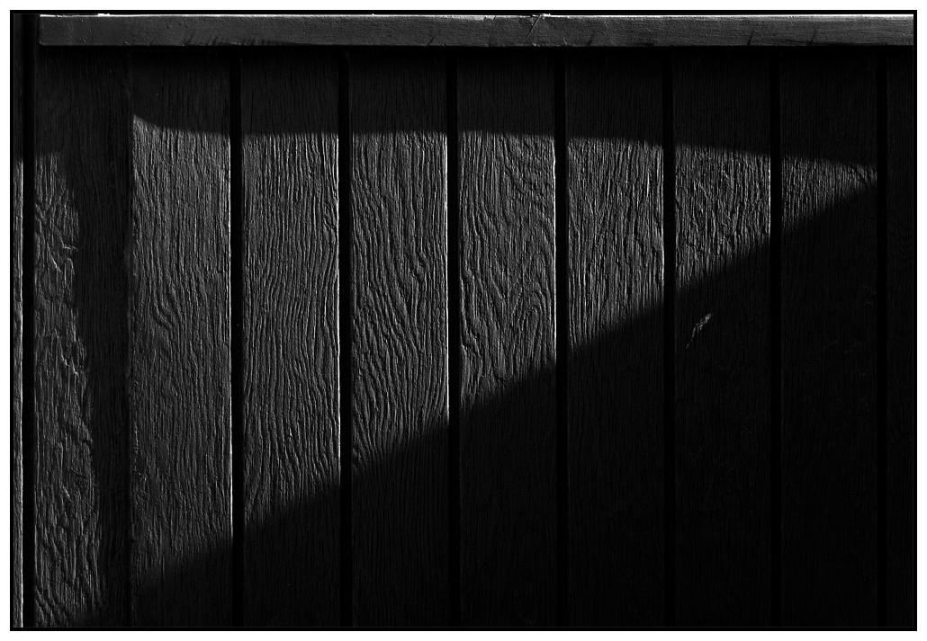 Holz Licht Schatten