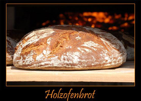 Holz Ofen Brot