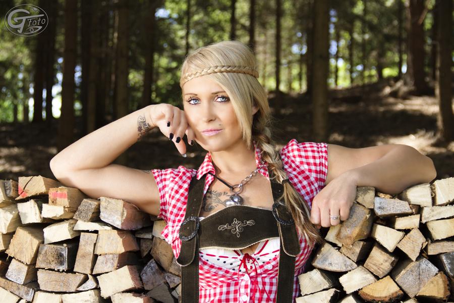 Holz-Portrait