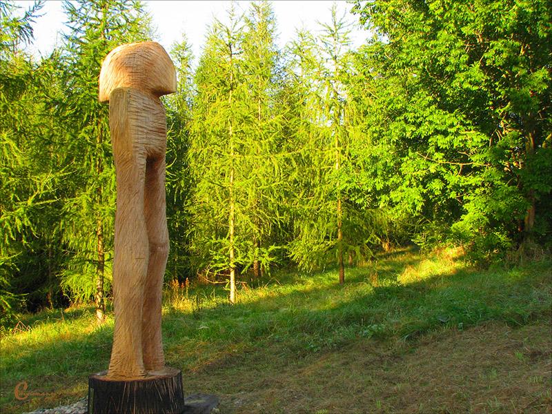 Holz Skulptur