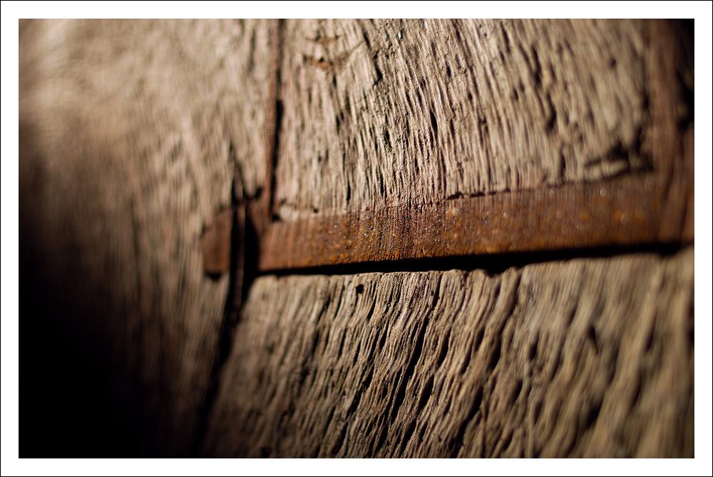 Holz und Rost