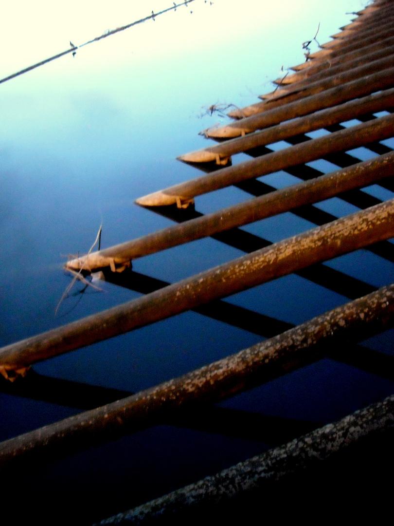 Holz und Wasser