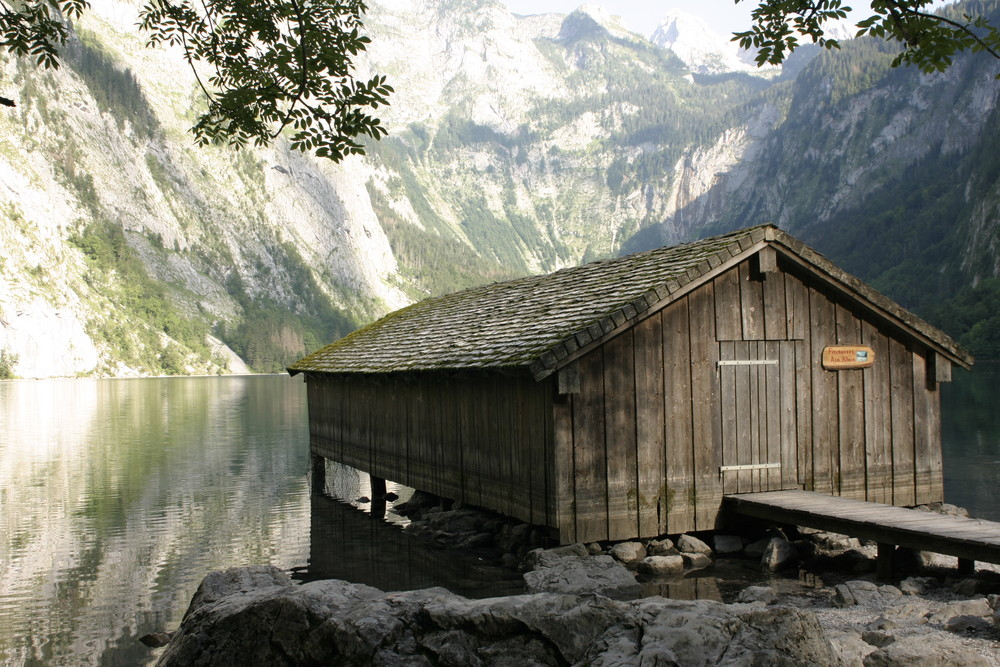 Holzhaus am Obersee